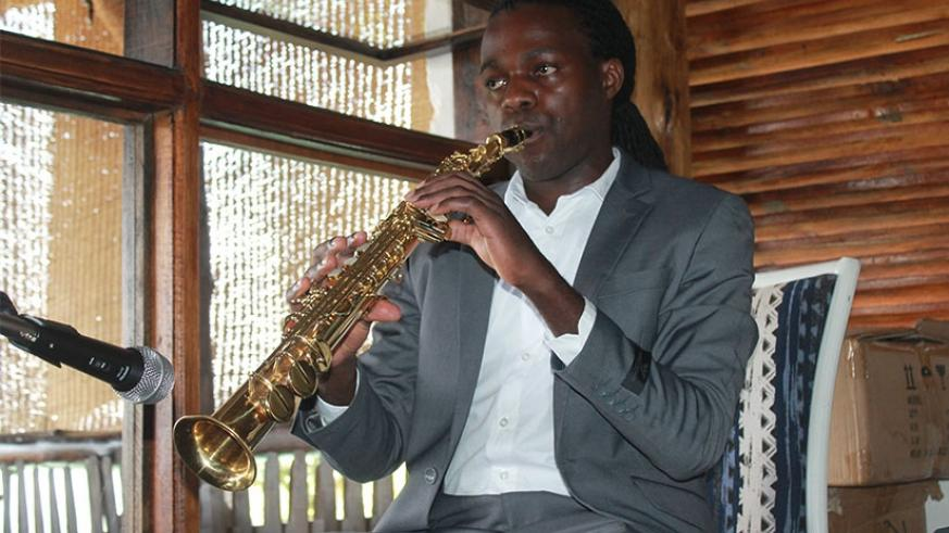Herbert Rock, saxophonist and composer. (Moses Opobo.)