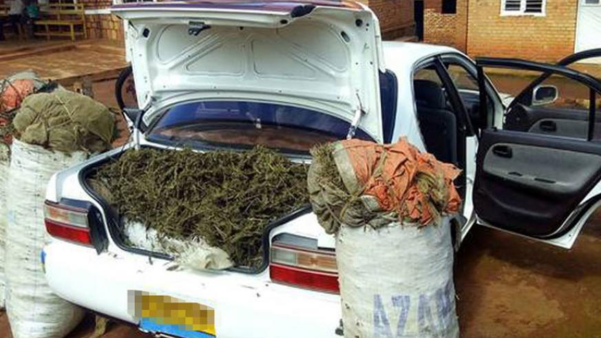 A vehicle impounded for trafficking in drugs. Many owners of such vehicles are said to remain on the run to avoid arrest, leaving their vehicles with Police. / Net