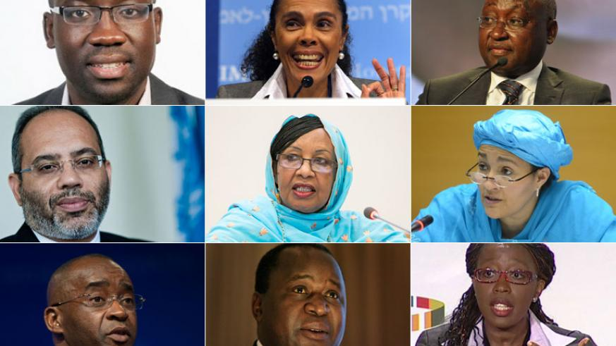 TOP LEFT: Dr Acha Leke, a senior partner with global consultancy firm, McKinsey & Co; Cristina Duarte, the former Minister of Finance of Cabo Verde; Dr Donald Kaberuka, the former ....