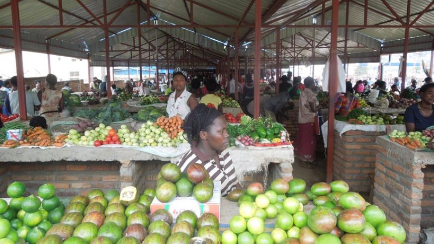 Foodstuff prices continue to go up despite the onset of rains. (Appolonia Uwanziga.)