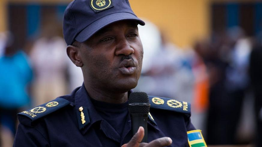 Theos Badege was yesterday appointed Rwanda National Police  Spokesperson. (File)