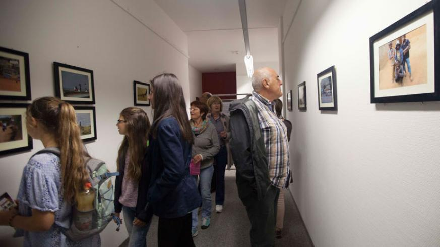 The 'Rwanda Unseen' exhibition attracted many people. / Courtesy