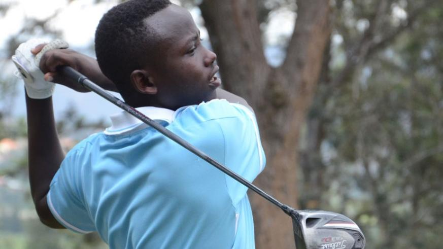 Aloys Nsabimana will be part of the national golf team to compete in Ethiopia  (S. Ngendahimana)
