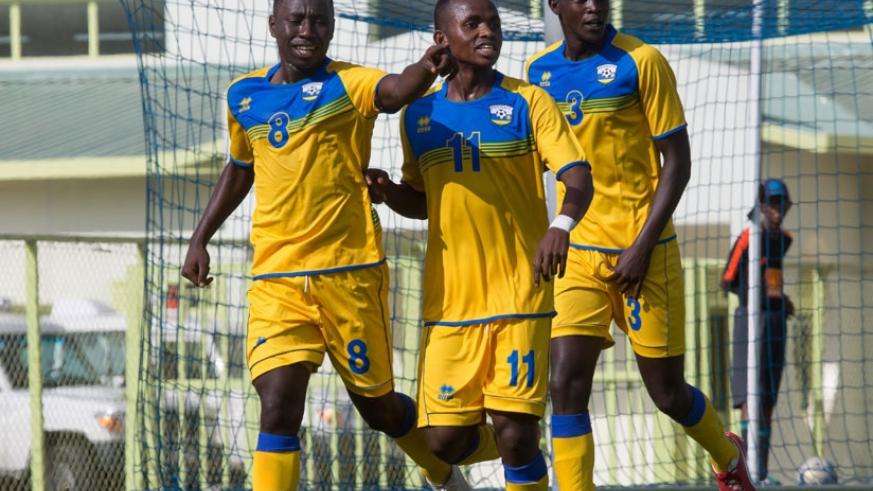 Itangishaka (L) will lead Rwanda U20 attack at the COSAFA tournament. (File photo)