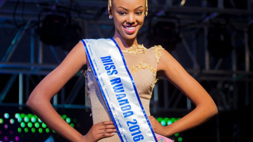 Miss Rwanda Jolly Mutesi, 19, is also scheduled to participate in the Miss World 2016, in the USA. (File)