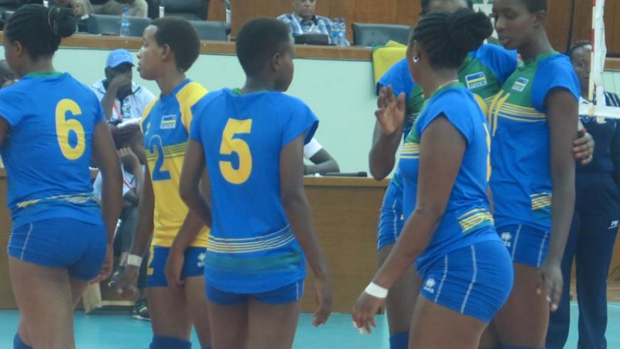 Rwanda finished in third place after wins over Botswana and Senegal and defeats to Egypt and Kenya. (P. Kamasa)