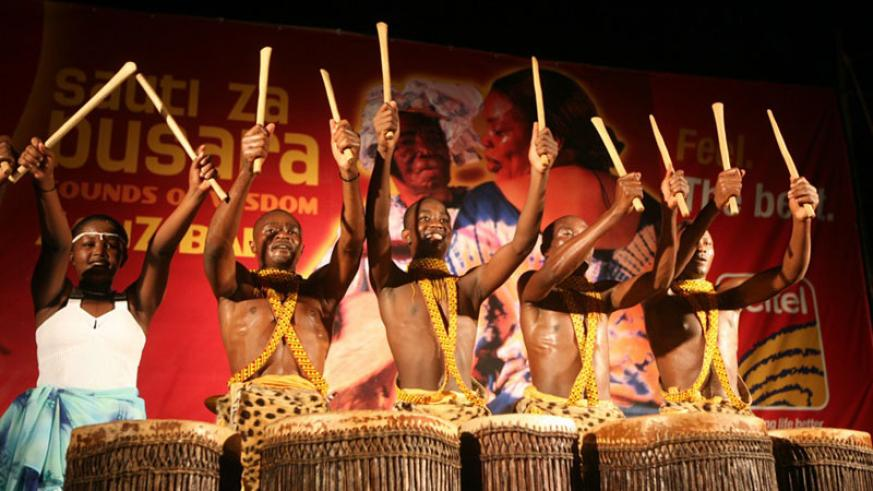 Imena cultural troupe performs during a past event in Kigali. / File