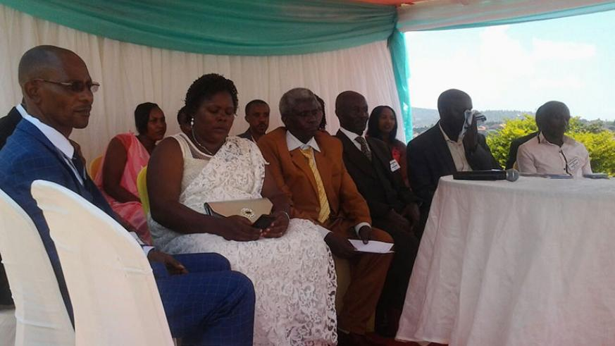 Abahereza during the celebration of their anniversary recently. / Steven Muvunyi
