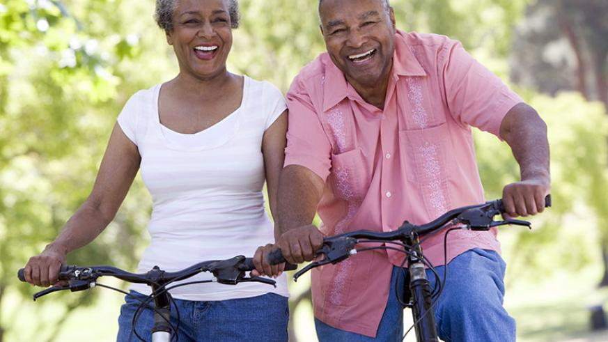 Staying active is crucial in staying healthy. / Internet photo.