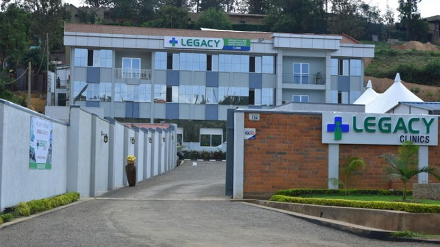 Legacy Clinics in Kicukiro District was officially opened on Friday, last week. / File.