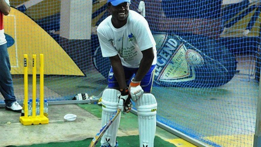 In May, this year, Dusingizimana became the first cricket player worldwide to bat for an astonishing 51 hours without a break. (File photo)