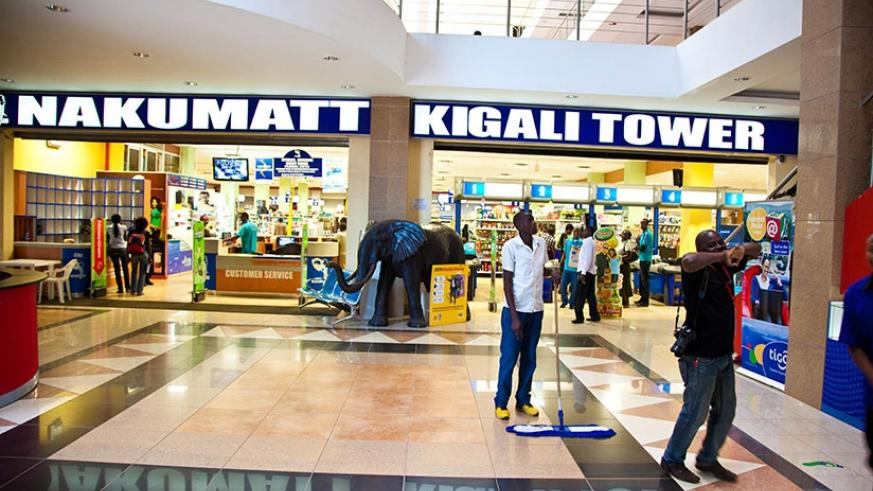 One of the two Nakumatt stores in Kigali. The regional retailer plans to set up more outlets in the country soon. (Timothy Kisambira.)