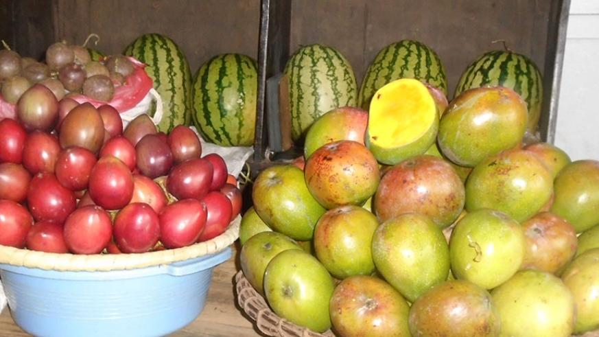 Fruits and vegetables are essential for a healthy reproductive system. / Lydia Atieno