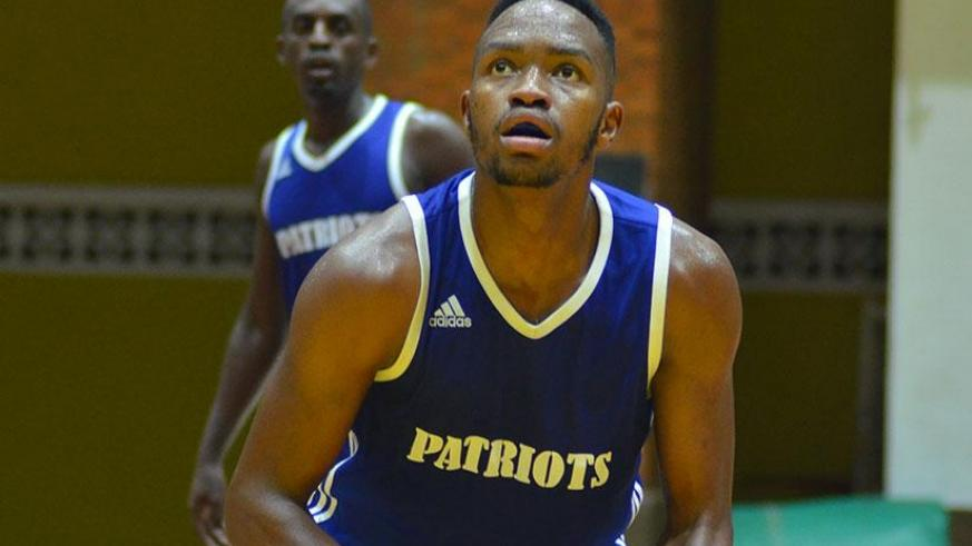 Walter Christopher Nkurunziza will lead Patriots' charge in their season opener against UGB on Friday evening. (S. Ngendahimana)