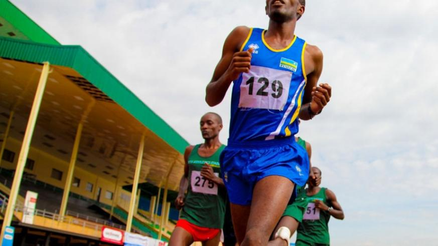 Eric Sebahire is expected to be on the national team for the 2017 World Cross Country Championship that will be held in Uganda. (File photo)