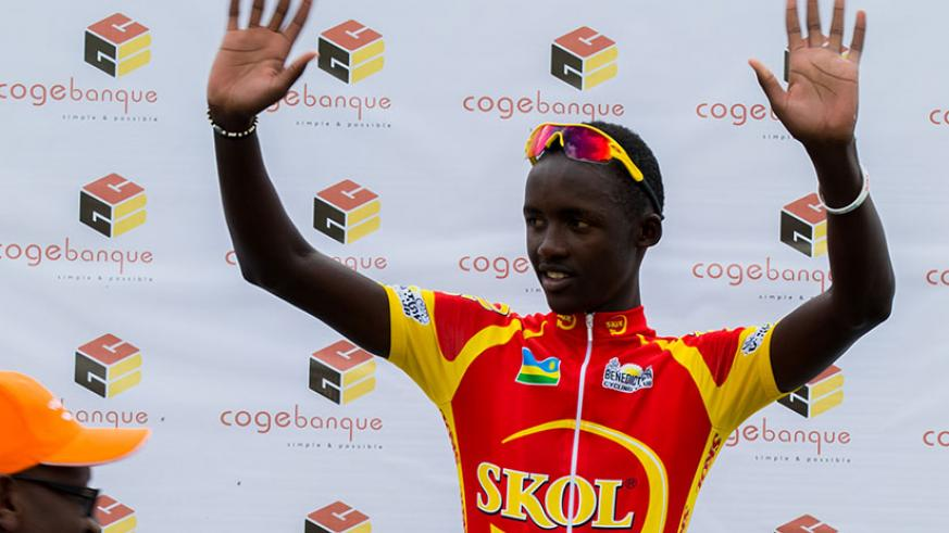 Mugisha is set to join South Africa's Team Dimension Data for Qhubeka. / Faustin Niyigena