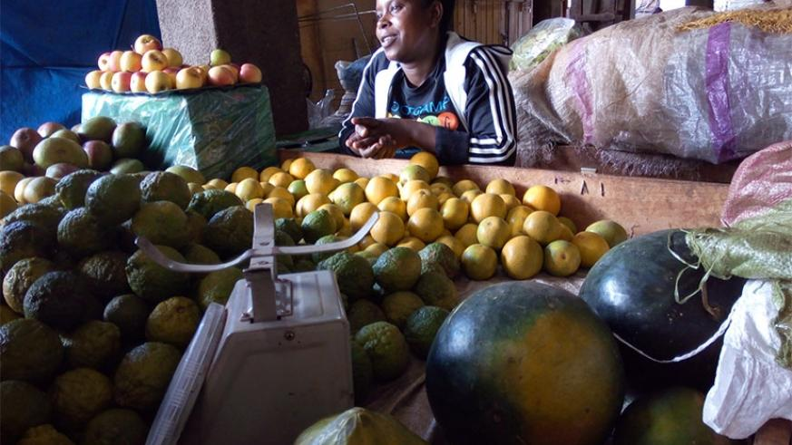 The prices of most fruits have gone up. / Appolonia Uwanziga.