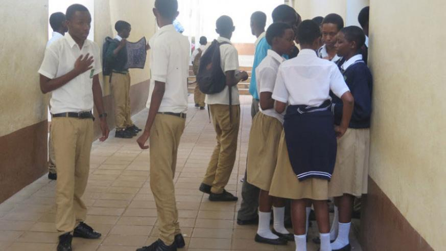 Students interact during break time. Handling students' concerns fairly can help boost academic performance. / Lydia Atieno