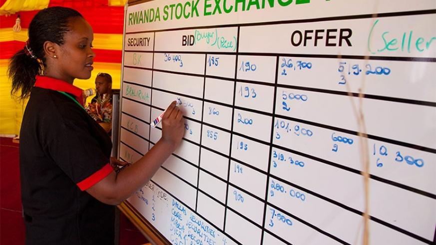 Few Rwandans save or invest through the stock market as many don't understand how it works. The Twitter session could help woo more local investors to participate on the bourse. (File)