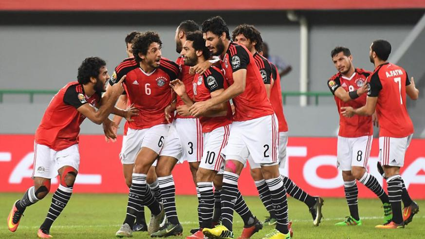 Mohamed Salah's stunning free-kick for Egypt snatches win and top spot from Ghana. Net photo