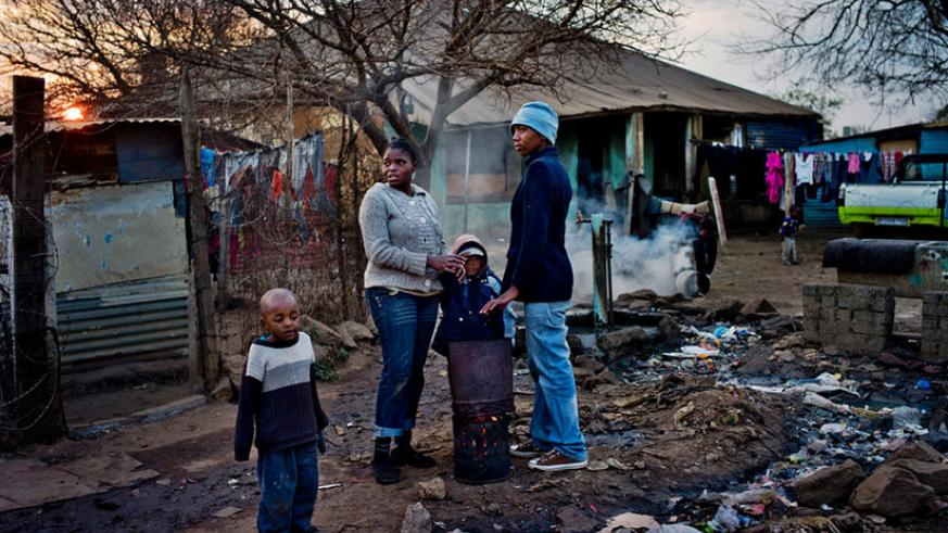 Many black South Africans have made gains, but poverty persists in Soweto and elsewhere. / Net photo.