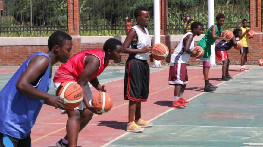 Rwanda recently launched a basketball academy in Musanze district, Northern Province. / File