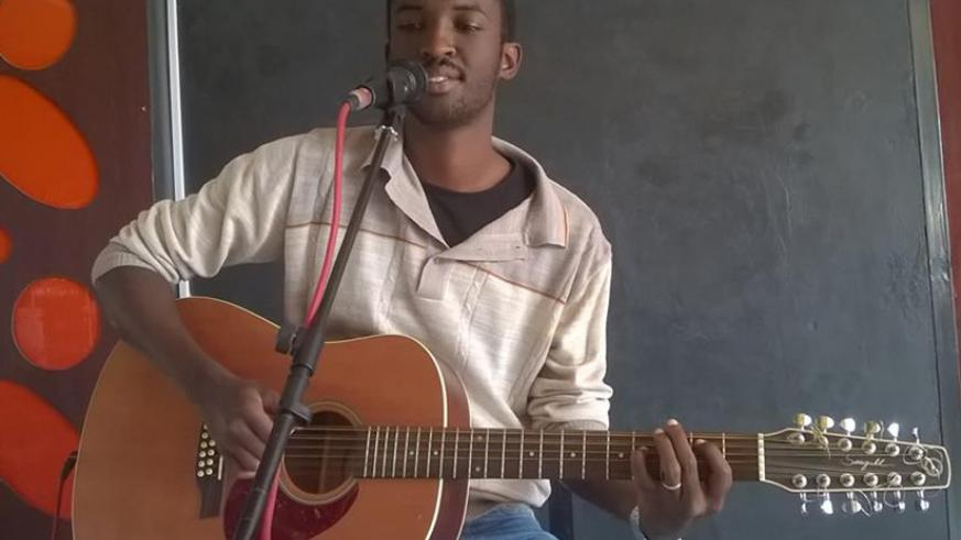 Arnold Nganji performs at a previous event. File.