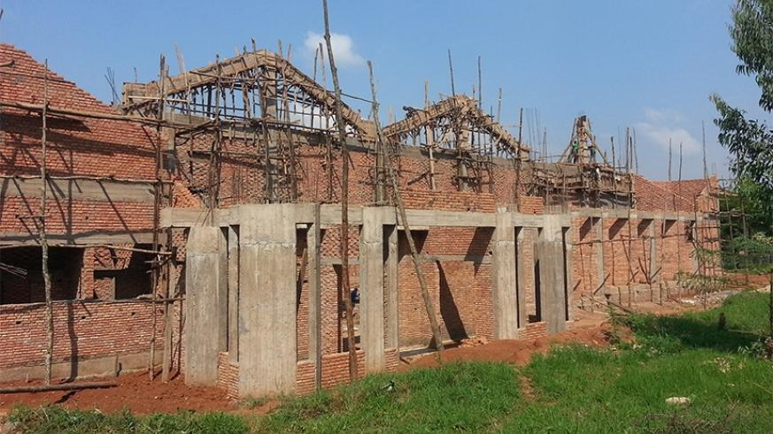Gahani Cathedral during its construction stage. It will be opened by Rev. Welby (inbox) on Sunday. (File)