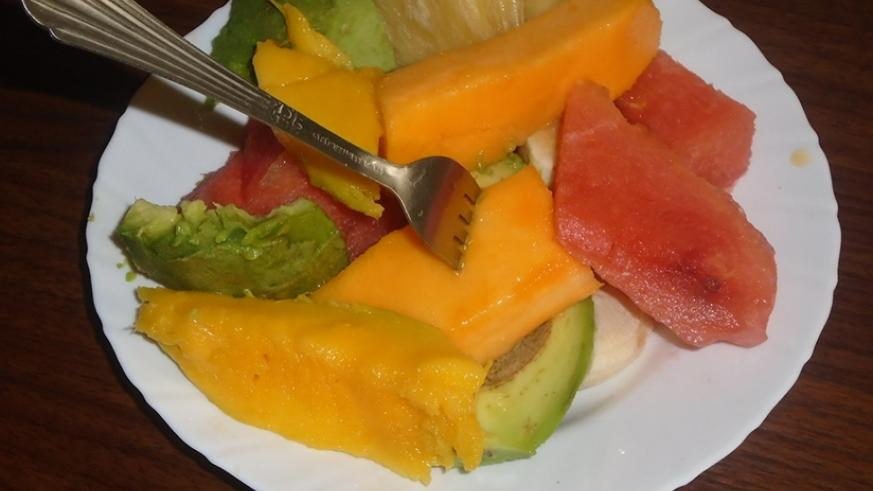 Fruits and vegetables help keep the heart in good health. (Lydia Atieno)
