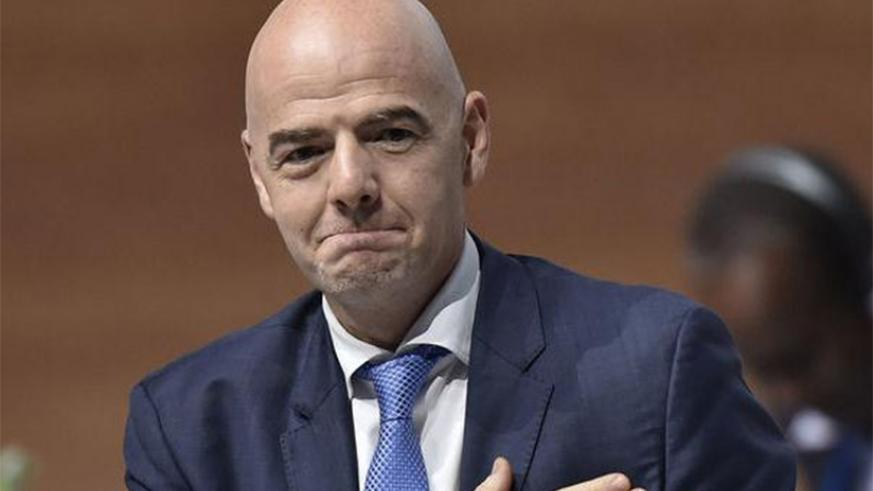 FIFA President Gianni Infantino is scheduled to arrive in the country on Saturday afternoon for a one-day official visit - it is Infantino's first visit to Africa since he was el....