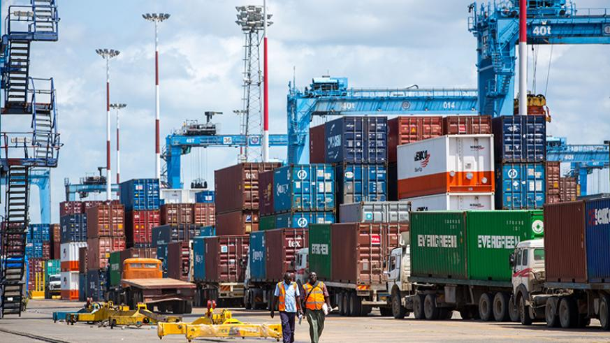 Containers at the Port of Mombasa. Net photo.
