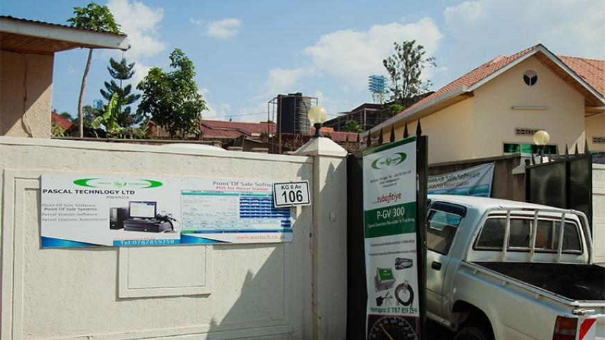 A firm operating from a residential building in Kigali. File.