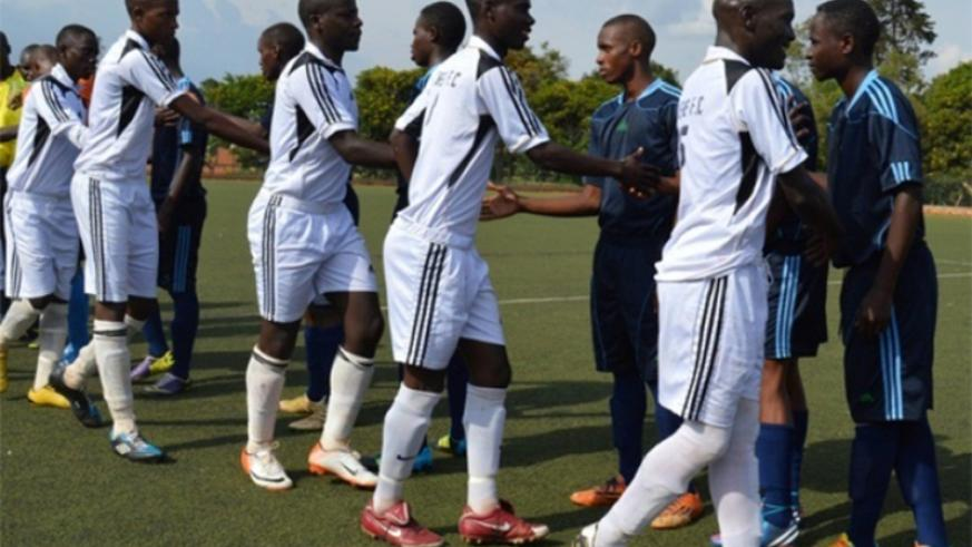 Intare FC, seen here before a past league match, beat Giticyinyoni 4-1 in Peace Cup preliminary round on Tuesday. File
