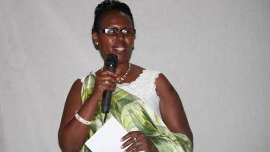 Dr Jeanne Nyirahabimana, the Mayor of Kicukiro District, is one of the five distrcit mayors who are women. File.