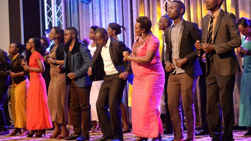 Light Gospel Choir performs at a past concert in Kigali. Net