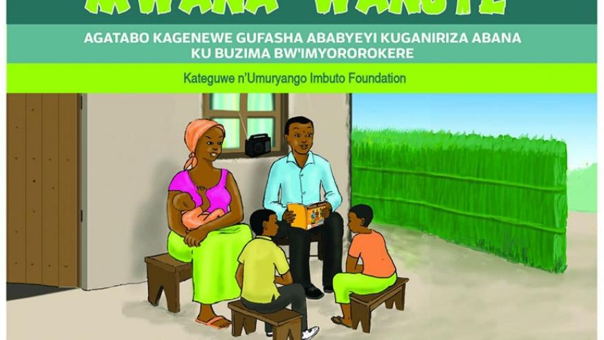 The cover of the new book launched by Imbuto Foundation. File.