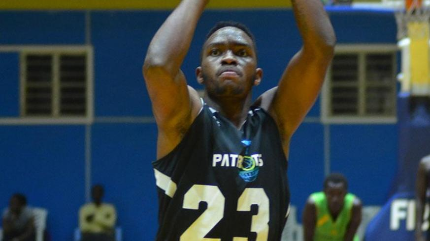 Shooting Guard Chris Walter Nkurunziza scored a season high 46 points to guide Patriots to victory. S. Ngendahimana.
