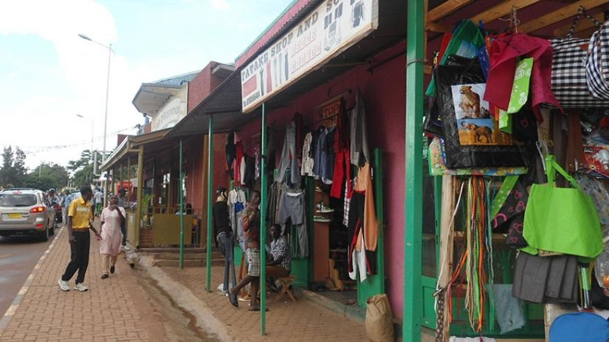 Small businesses in Nyamirambo. The majority of start-ups collapse before their first birthday. / File.