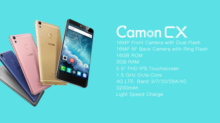 SPONSORED: TECNO to launch Camon Cx in Rwanda