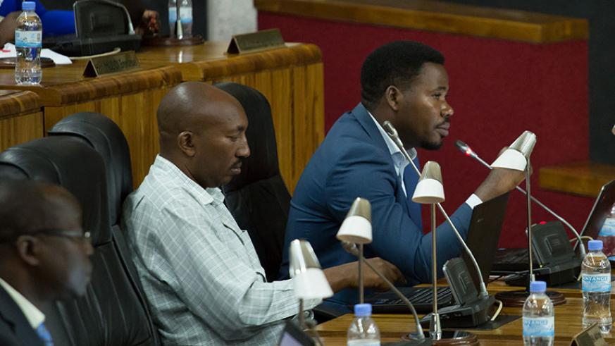 MP Bamporiki says setting up a national rehab centre would be akin to encouraging youngsters to go to the streets so they can be picked up and trained. / Timothy Kisambira