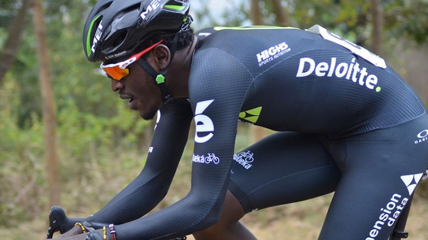 The former Dimension Data rider Ndayisenga is hoping to continue his fairytale journey with Austria's Tirol cycling team. (Sam Ngendahimana)