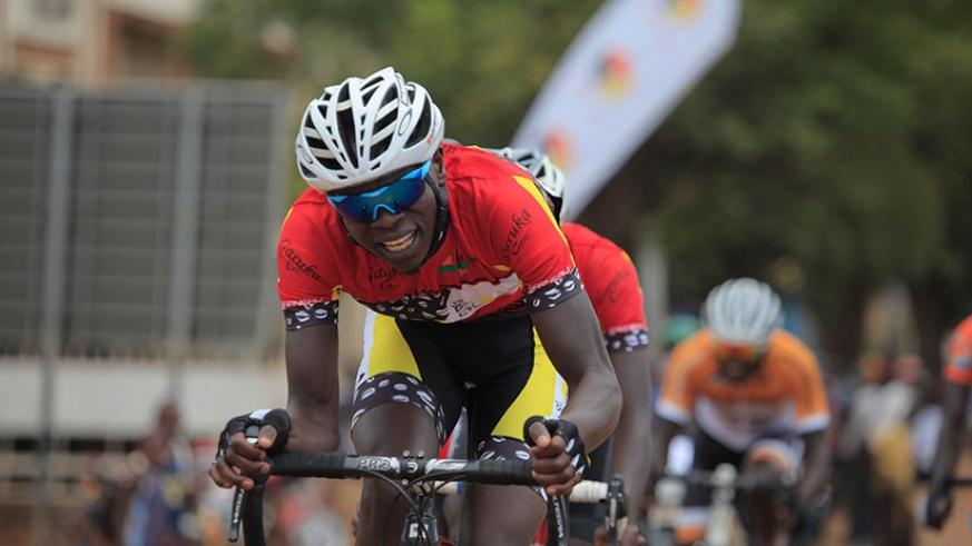 Jean Bosco Nsengimana, winner of the 2015 Tour du Rwanda, will lead Team Rwanda's charge in Eritrea. (Sam Ngendahimana)