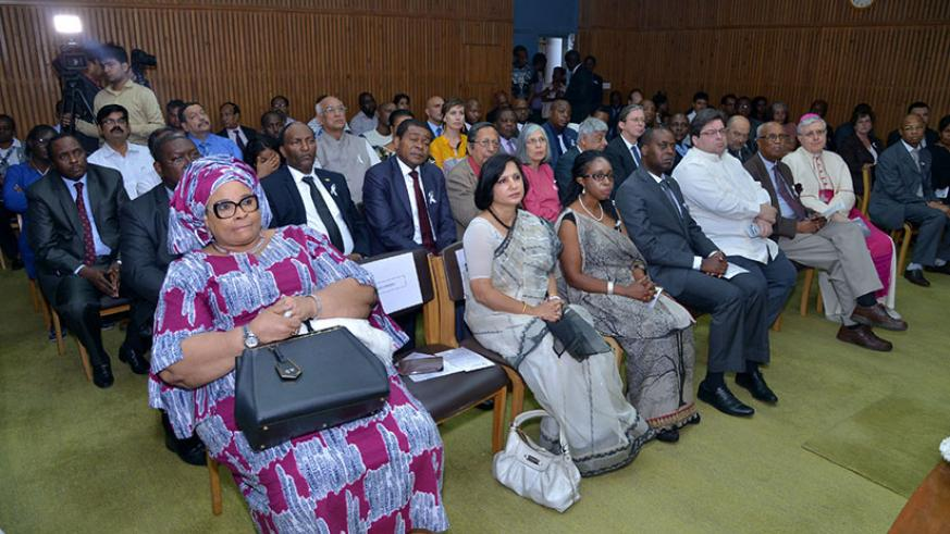 Rwandans and wellwishers attend the 23rd Genocide commemoration event in New Delhi, India. / Courtesy