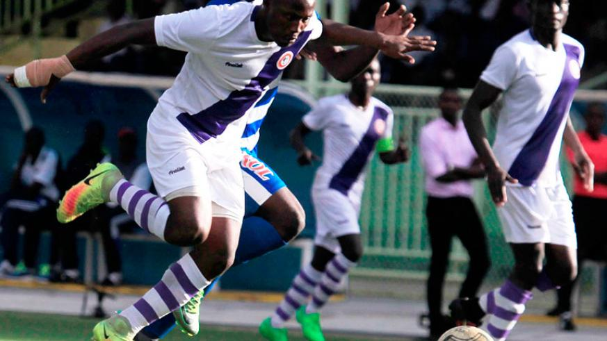Sunrise FC, who host APR on Saturday, lost their last league match against Rayon Sports 3-1 at Stade de Kigali on March 30. / Sam Ngendahimana