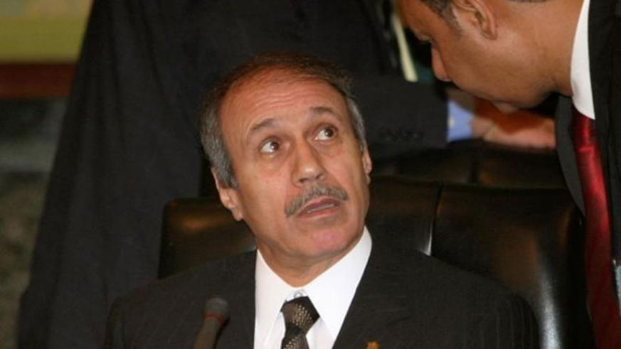 Habib el-Adly has faced a string of cases since a popular uprising ousted Mubarak in 2011. Net photo.