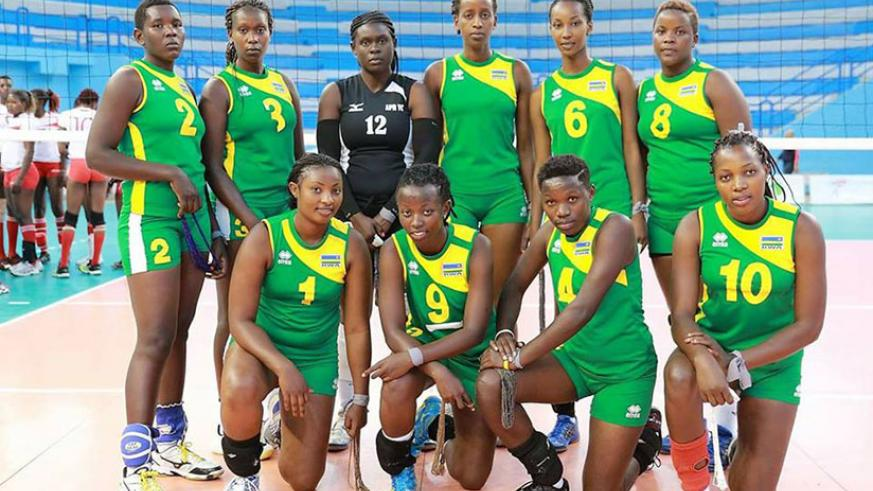 APR women volleyball club finished in the 10th place at this year's African Club championships that concluded on Sunday in Tunisia. / Courtesy