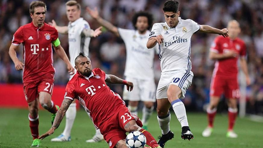 Vidal changed the course of the tie when he saw a second yellow for this tackle on Marco Asensio, it was a harsh decision. Net photo