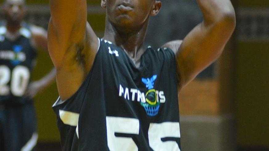 Elie Kaje finished with a game high 21 points in Patriots' 84-67 win over IPRC-Kigali. S. Ngendahimana