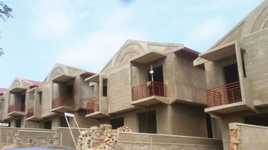 The majority of the residential houses coming onto the market target the upper part of the pyramid. Those touted as affordable are too costly for the targeted buyers. / Francis Byaruhanga