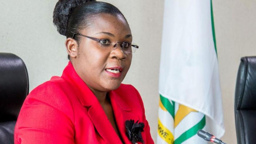 Public Service and Labour minister Judith Uwizeye. File
